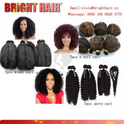 7pcs small curl