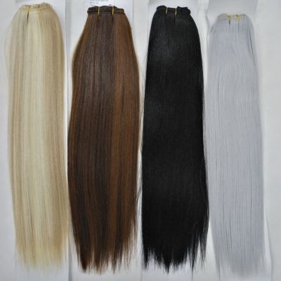 synthetic hair clip in hair extension