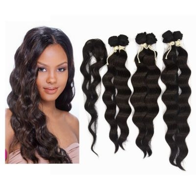 7 Pcs Long Loose Wave