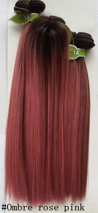 Ombre rose pink